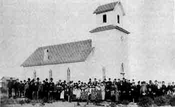 Original St. John's Church circa 1884