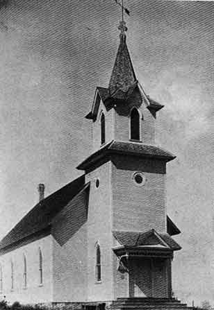 New St. John's in 1903. Still standing today.